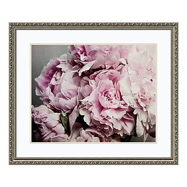 Amanti Art Framed Art Print 'Peonies Galore II' by Elizabeth Urquhart, 33