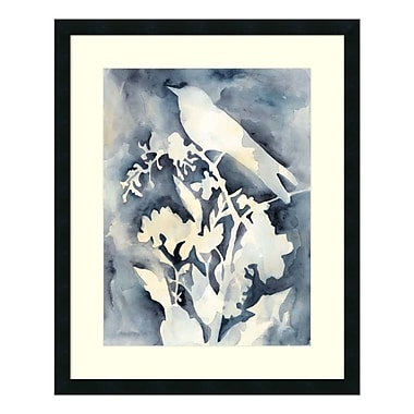 Amanti Art Framed Art Print 'Hedgerow I (Bird)' by Chariklia Zarris, 26