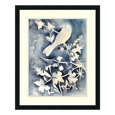 Amanti Art Framed Art Print 'Hedgerow II (Bird)' by Chariklia Zarris, 26