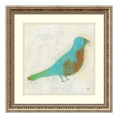 Amanti Art Framed Art Print 'Flight Patterns Bird I' by Melissa Averinos, 19