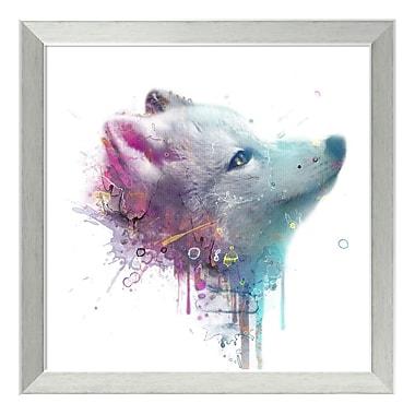 Amanti Art Framed Art Print 'Fox' by Veebee, 18