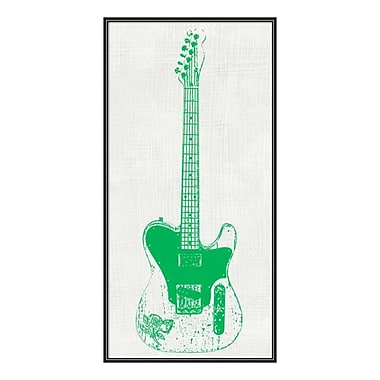 Amanti Art Framed Art Print 'Guitar Collector II' by Kevin Inge, 12