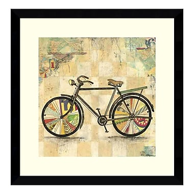 Amanti Art Framed Art Print 'Ride 2 (Bike)' by Wagner Jennifer, 17