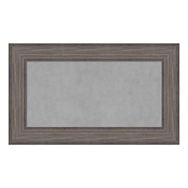 Amanti Art Framed Magnetic Board Medium, Country Barnwood, 30