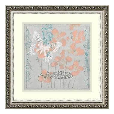 Amanti Art – Impression encadrée « Gray Garden I (Floral) » par Jennifer Goldberger, 19 x 19 po (DSW3909171)