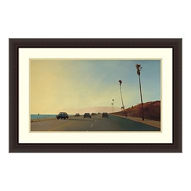 Amanti Art Framed Art Print 'California Road Chronicles #16' by Relja Penezic, 36