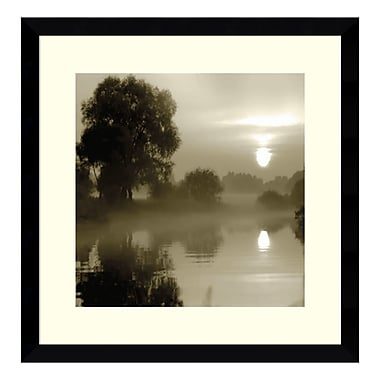 Amanti Art Framed Art Print 'Reflections of the Sun' by Steven Mitchell, 17