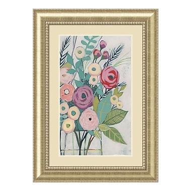 Amanti Art – Impression encadrée « Soft Spring Bouquet I » par Grace Popp, 31 x 43 po (DSW3909374)