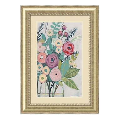 Amanti Art Framed Art Print 'Soft Spring Bouquet I (Floral)' by Grace Popp, 31