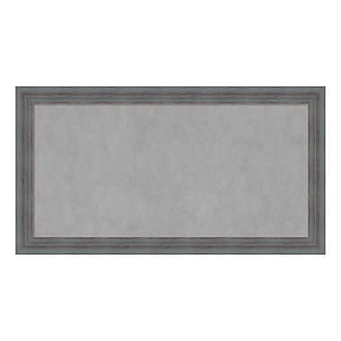 Amanti Art Framed Magnetic Board Medium, Dixie Grey Rustic, 26