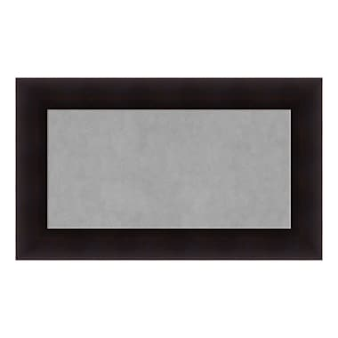 Amanti Art Framed Magnetic Board Medium, Portico Espresso