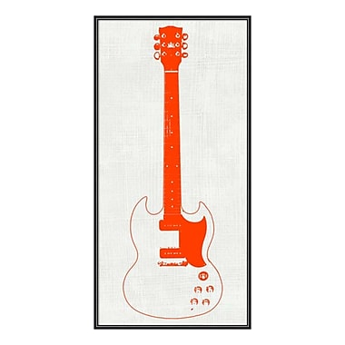 Amanti Art Framed Art Print 'Guitar Collector III' by Kevin Inge, 12
