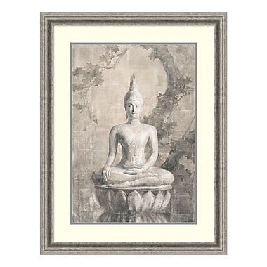 Amanti Art Framed Art Print 'Buddha Neutral' by Danhui Nai, 27