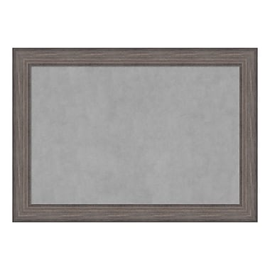 Amanti Art Framed Magnetic Board Extra Large, Country Barnwood, 42