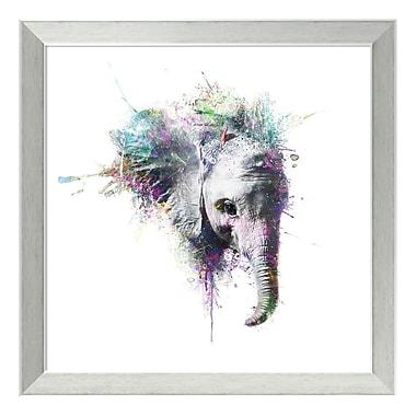 Amanti Art Framed Art Print 'Elephant' by Veebee, 18