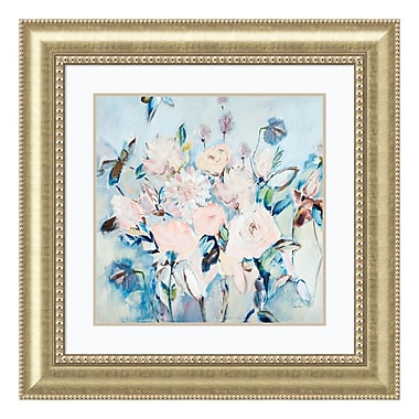 Amanti Art Framed Art Print 'Sweetness and Light II v2 (Floral)' by Joan E. Davis, 33