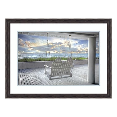 Amanti Art Framed Art Print 'Swing At The Beach' by Celebrate Life Gallery, 43