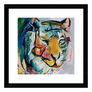 Amanti Art Framed Art Print 'Tiger Tiger' by Angela Maritz, 17