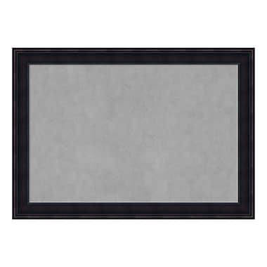 Amanti Art Framed Magnetic Board Extra Large, Annatto Mahogany, 41