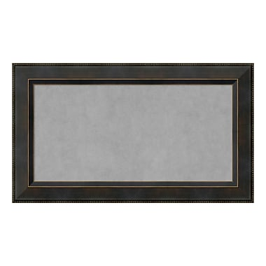 Amanti Art Framed Magnetic Board Medium, Signore Bronze, 29