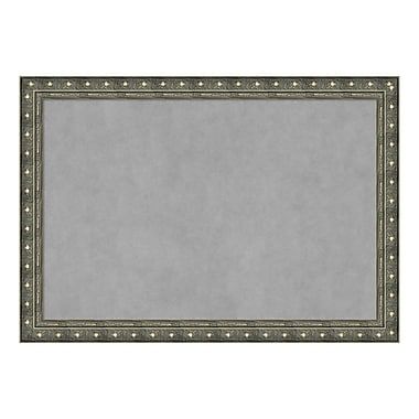 Amanti Art Framed Magnetic Board Extra Large, Barcelona Champagne, 40