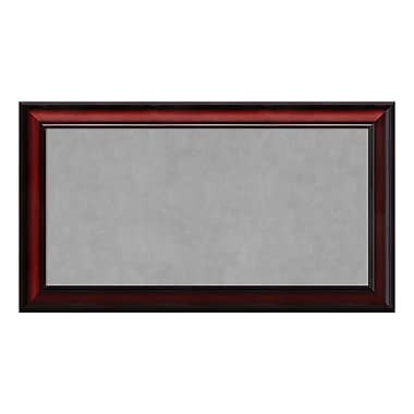 Amanti Art Framed Magnetic Board Medium, Rubino Cherry Scoop, 27