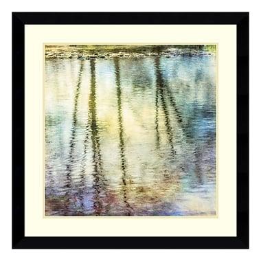 Amanti Art Framed Art Print 'Sunset Ripple 1' by Dianne Poinski, 33