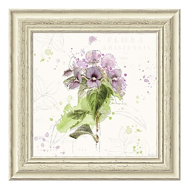 Amanti Art Framed Art Print 'Floral Splash III' by Katie Pertiet, 19