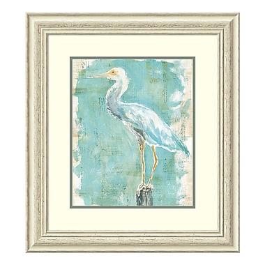 Amanti Art Framed Art Print 'Coastal Egret II v2' by Sue Schlabach, 25