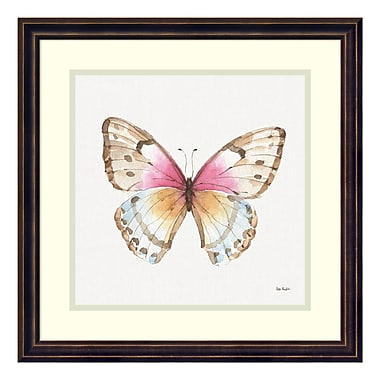 Amanti Art Framed Art Print 'Colourful Breeze XI (Butterfly)' by Lisa Audit, 18