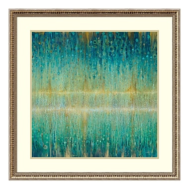 Amanti Art Framed Art Print 'Rain Abstract I' by Danhui Nai, 33