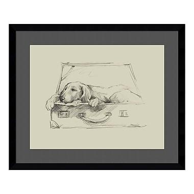 Amanti Art Framed Art Print 'Stowaway III' by Ethan Harper, 23