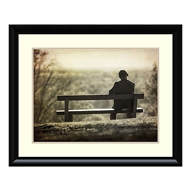 Amanti Art – Impression encadrée d'une « contemplation » par Joe Reynolds, 33 x 27 po (DSW3909252)