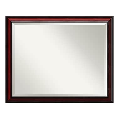 Amanti Art Wall Mirror Large, Rubino Cherry Scoop, 31