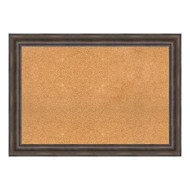 Amanti Art – Tableau encadré en liège très grand, pin rustique, 42 x 30 po (DSW3907463)