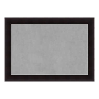 Amanti Art Framed Magnetic Board Extra Large, Portico Espresso, 42