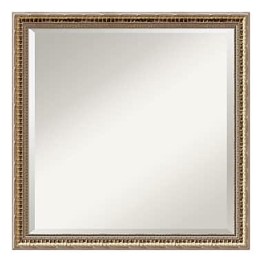 Amanti Art ? Miroir mural carré, champagne doré
