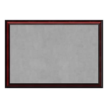 Amanti Art Framed Magnetic Board Extra Large, Rubino Cherry Scoop, 39