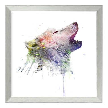 Amanti Art Framed Art Print 'Wolf' by Veebee, 18