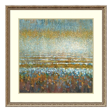 Amanti Art – Impression encadrée « Rains over the Lake » par Danhui Nai, 33 x 33 po (DSW3909743)