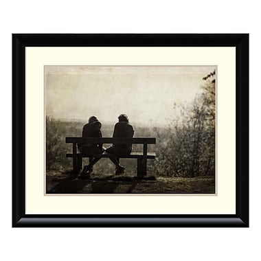 Amanti Art Framed Art Print 'Conversation' by Joe Reynolds, 33