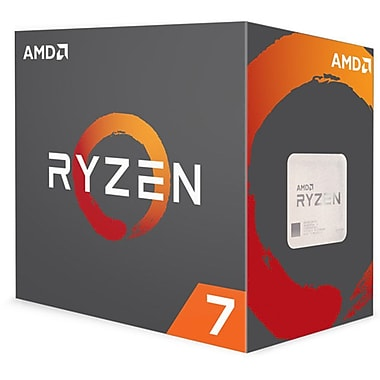 AMD Ryzen 7 1700X Octa-Core Processor, 16-Thread, AM4 Socket, 3.4 GHz, 95W (YD170XBCAEWOF)