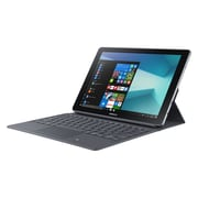 Samsung-Tablette Galaxy Book SM-W620NZKBXAC 10,6 po, 2,6 GHz Intel Core m3, 64 Go Flash, 4 Go RAM, Windows 10 Famille, argent