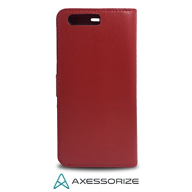 Axessorize Folio Cell Phone Case for Huawei P10, Red (FOLP10R)
