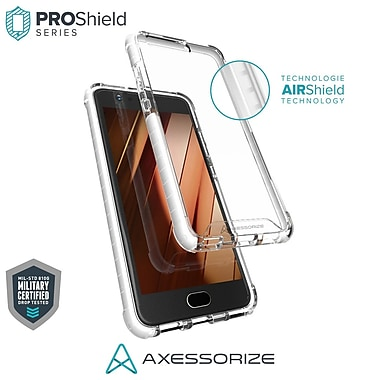 Axessorize PROShield Cell Phone Case for Huawei P10, White (HUAP1201)
