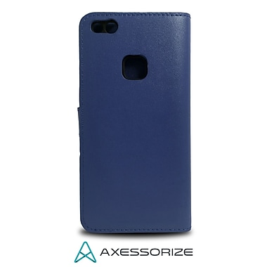 Axessorize Folio Cell Phone Case for Huawei P10 lite, Blue (FOLP10LB)