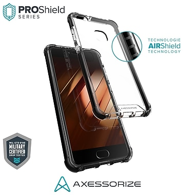 Axessorize PROShield Cell Phone Case for Huawei P10 lite, Black (HUAPL1200)