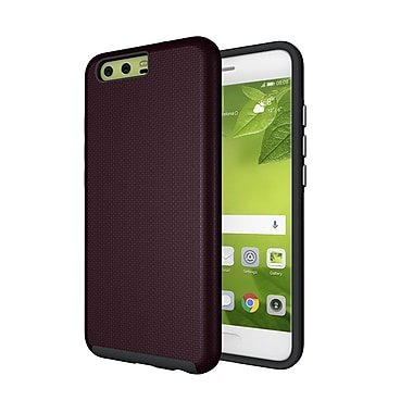 Axessorize PROTech Cell Phone Case for Huawei P10, Burgundy Red (HUAR1202)