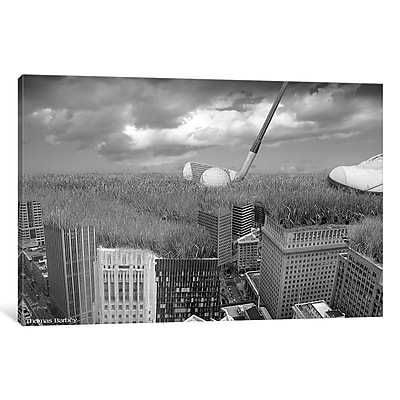 East Urban Home 'Big Shot' Graphic Art on Wrapped Canvas; 40'' H x 60'' W x 1.5'' D