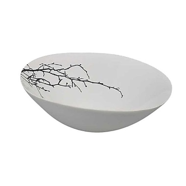 Alcott Hill Oval Ceramic Decorative Bowl